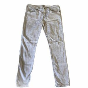 True Religion Halle White Skinny Jeans